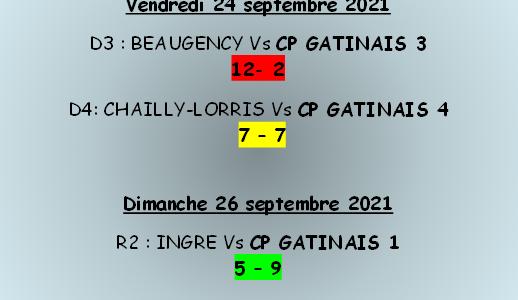 Championnat séniors J1